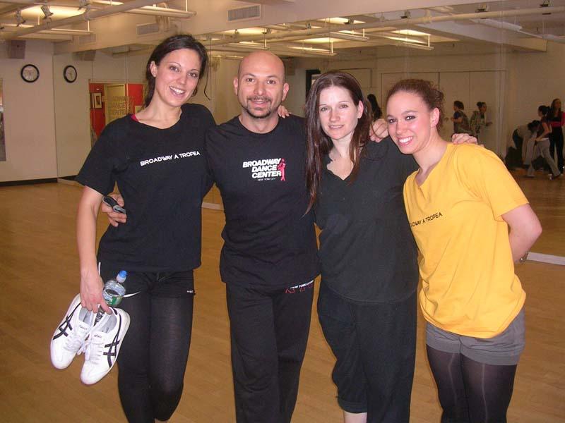 2009 - Attestato di Partecipazione presso Broadway Dance Center di New York