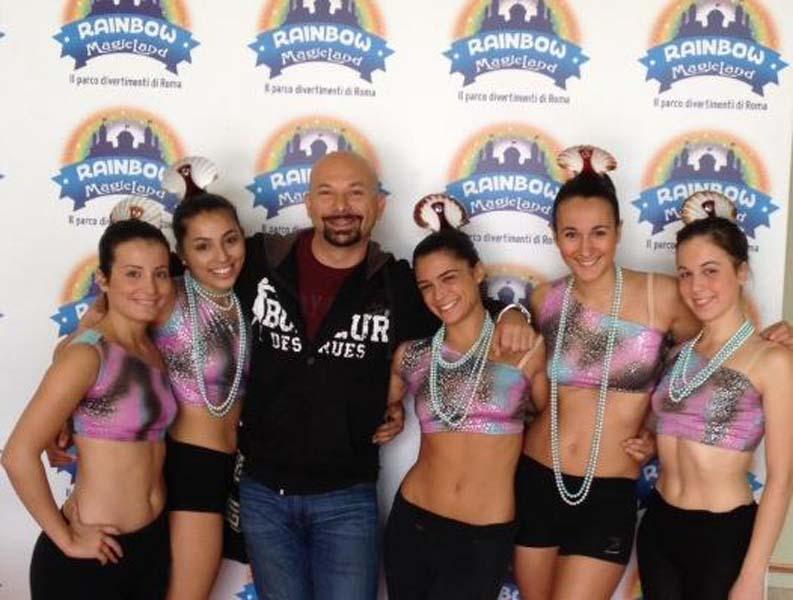 2013 - Vincitori del Premio DANCING DAYS al Parco Rainbow di Valmontone (Rm). Primi Classificati Categoria Senior