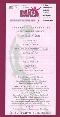 Stage Formello Danza 2003